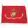 12X18 IN. NYLON FLAG-  MARINES (24/CS) PARTY SUPPLIES