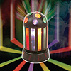 SUN-LIGHT ROTATING 9 IN. DISCO BALL PARTY SUPPLIES