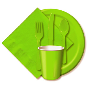 BULK FRESH LIME TABLEWARE