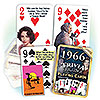 1966 TRIVIA PLAYING CARDS PARTY SUPPLIES