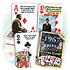 1967 TRIVIA PLAYING CARDS PARTY SUPPLIES
