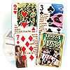 1983 TRIVIA PLAYING CARDS PARTY SUPPLIES