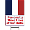 FRANCE YARD SIGN PARTY SUPPLIES