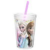 ANNA & ELSA DOUBLE WALL TUMBLER 13OZ PARTY SUPPLIES