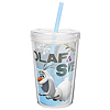 OLAF & SVEN DOUBLE WALL TUMBLER 13OZ PARTY SUPPLIES