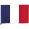 4X6 MUSLIN FLAG- FRANCE (36/CS) PARTY SUPPLIES