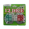 CASINO DICE 12/PKG PARTY SUPPLIES