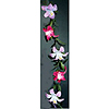 TIGER LILY GARLAND-HOT PINK/LAV(12/CS) PARTY SUPPLIES