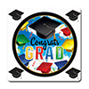 GRAD CELEBRATION COASTER 12/PKG PARTY SUPPLIES