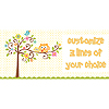 PERSONALIZED HAPPI TREE BABY BANNER PARTY SUPPLIES