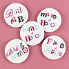BACHELORETTE BUTTONS PARTY SUPPLIES
