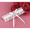 WHITE CRYSTAL ALL MY HEART GARTER PARTY SUPPLIES