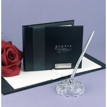 Click for larger picture of MIDNIGHT RENDEZVOUS GUEST BOOK PARTY SUPPLIES