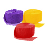 YELLOW PURPLE RED CREPE COMBO (SOLID) PARTY SUPPLIES
