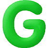 DISCONTINUED INFLATABLE LETTERS GREEN G PARTY SUPPLIES