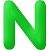 DISCONTINUED INFLATABLE LETTERS GREEN N PARTY SUPPLIES