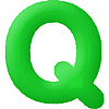 DISCONTINUED INFLATABLE LETTERS GREEN Q PARTY SUPPLIES