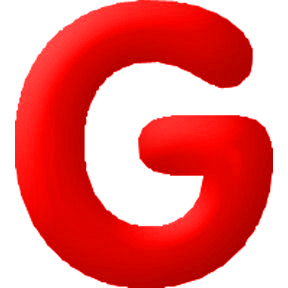 Click for larger picture of DISCONTINUED INFLATABLE LETTERS RED G PARTY SUPPLIES