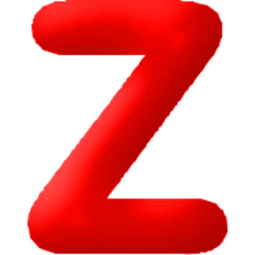 Click for larger picture of DISCONTINUED INFLATABLE LETTERS RED Z PARTY SUPPLIES