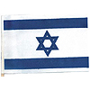 ISRAEL HANDHELD FLAG (4X6 IN.) PARTY SUPPLIES