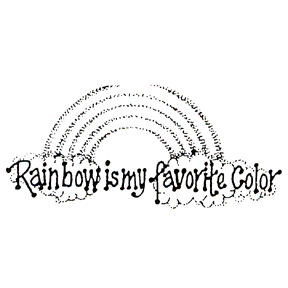 DISCONTINUED RN BOW IS MY FAV COLR STAMP PARTY SUPPLIES