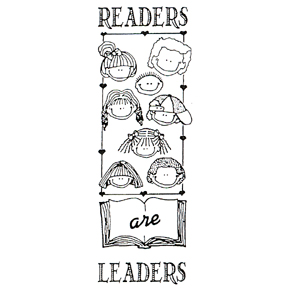 Click for larger picture of DISCONTINUED READERS/LEADERS BKMK STAMP PARTY SUPPLIES