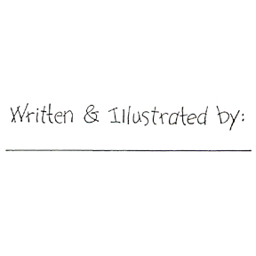 DISCONTINUED WRITTEN & ILLUST BY STAMP PARTY SUPPLIES