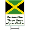 JAMAICA YARD SIGN PARTY SUPPLIES