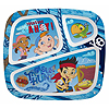 JAKE NEVER LAND PIRATES 3-SECTION PLATE PARTY SUPPLIES