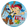 JAKE NEVER LAND PIRATES SOUVENIR PLATE PARTY SUPPLIES