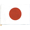 JAPAN HANDHELD FLAG (4X6 IN.) PARTY SUPPLIES