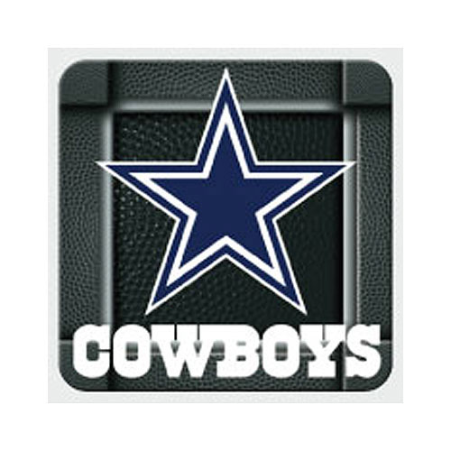 Click for larger picture of DALLAS COWBOYS COASTERS PARTY SUPPLIES