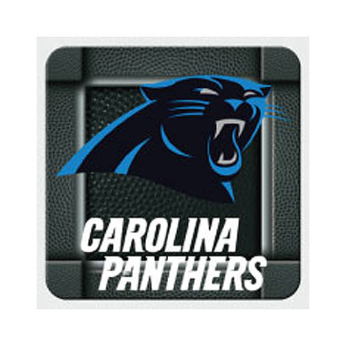 Click for larger picture of CAROLINA PANTHERS COASTERS PARTY SUPPLIES