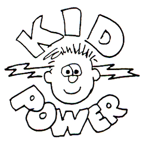 DISCONTINUED KID POWER RUBBER STAMP PARTY SUPPLIES