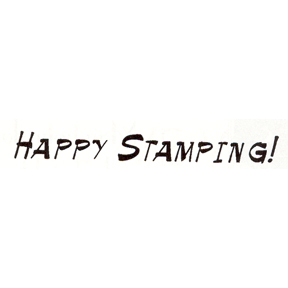 DISCONTINUED HAPPY STAMPING RUBBER STAMP PARTY SUPPLIES