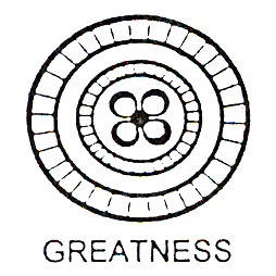 DISCONTINUED GREATNESS SYMBOL SM STAMP PARTY SUPPLIES