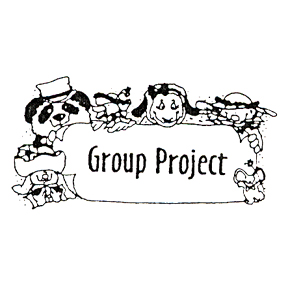 Click for larger picture of DISCONTINUED ANIMAL GROUP PROJECT STAMP PARTY SUPPLIES
