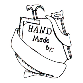 DISCONTINUED HANDMADE RUBBER STAMP PARTY SUPPLIES