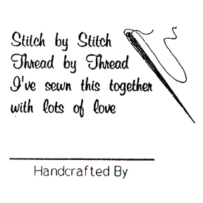 DISCONTINUED STITCH BY STITCH  STAMP PARTY SUPPLIES