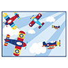 LIL FLYER AIRPLANE PLACEMAT PARTY SUPPLIES