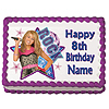 HANNAH MONTANA ROCK EDIBLE ICING ART PARTY SUPPLIES