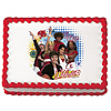 HIGH SCHOOL MUSICAL WILDCATS EDIBLE ART PARTY SUPPLIES
