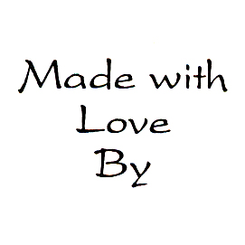 DISCONTINUED MADE WITH LOVE BY  STAMP PARTY SUPPLIES