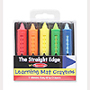 LEARNING MAT CRAYONS (SET OF 5) PARTY SUPPLIES