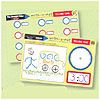 TELLING TIME WRITE-A-MAT (EACH) PARTY SUPPLIES