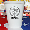 MARINES CUPS 8/PKG PARTY SUPPLIES
