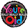 21IN. MIGHTY OLD BIRTHDAY MYL BLN (5/CS) PARTY SUPPLIES