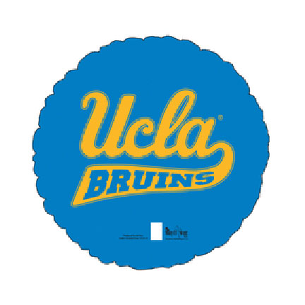 18IN. UCLA MYLAR BALLOON (5/CS) PARTY SUPPLIES