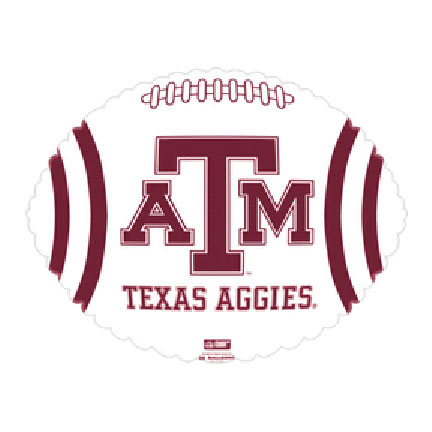 21IN. TEXAS A&M AGGIES MYL BLN (5/CS) PARTY SUPPLIES