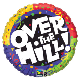 18 IN. OVER THE HILL CONFETTI (5/CS) PARTY SUPPLIES
